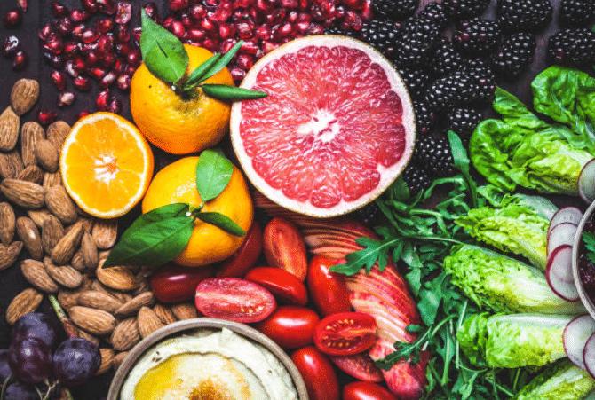 alimentation-saine-legumes-graines-fruits-sante